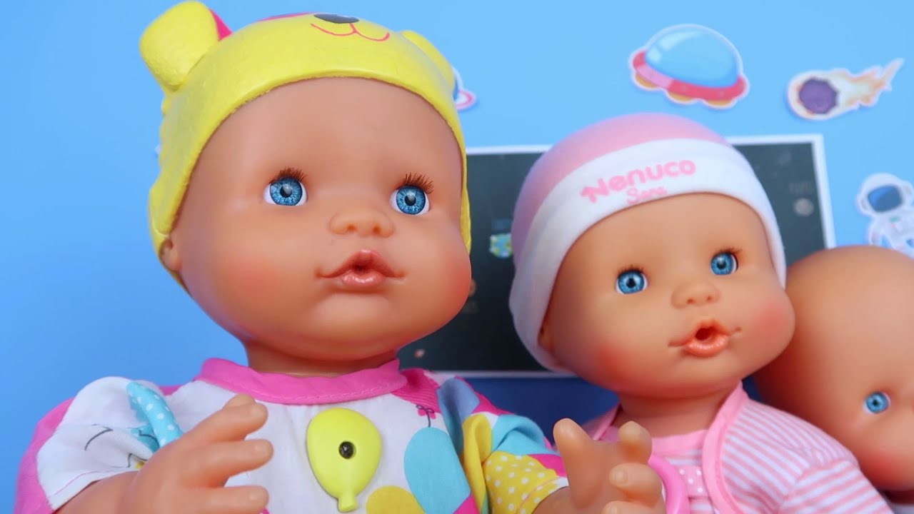 👽 Mis bebés de Juguetes Reciben Aliens de Slime!👶 |  La guardería Nenuco #9