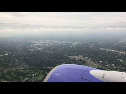 Southwest Airlines flight from St Louis to Minneapolis (full flight)