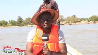 InterFace Gambia TV on Wed 8th Feb 2019, 2018 GAMBIA TOUR at Kunta Kinteh Island Part 9