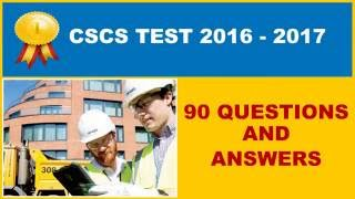 CSCS Test Practice - Full 90 Questions