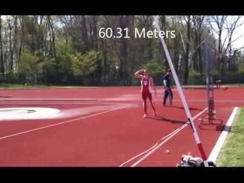 Matt Birk Indiana University Javelin Polytan Invite