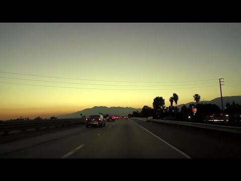 CA-330 & CA-210: Golden Hour in the Inland Empire