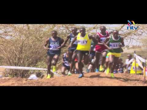 Athletics Kenya national cross country trials held at the Uhuru Gardens