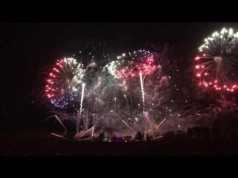 Novoroční ohňostroj Praha 1.1.2018, Prague New Year Firework 1.1.2018 - iPhone 7