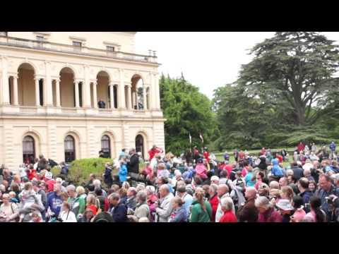 Diamond Jubilee celebrations at Osborne House - June '12