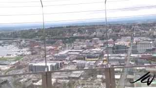 Seattle Space Needle - Observation Deck 1 - Youtube