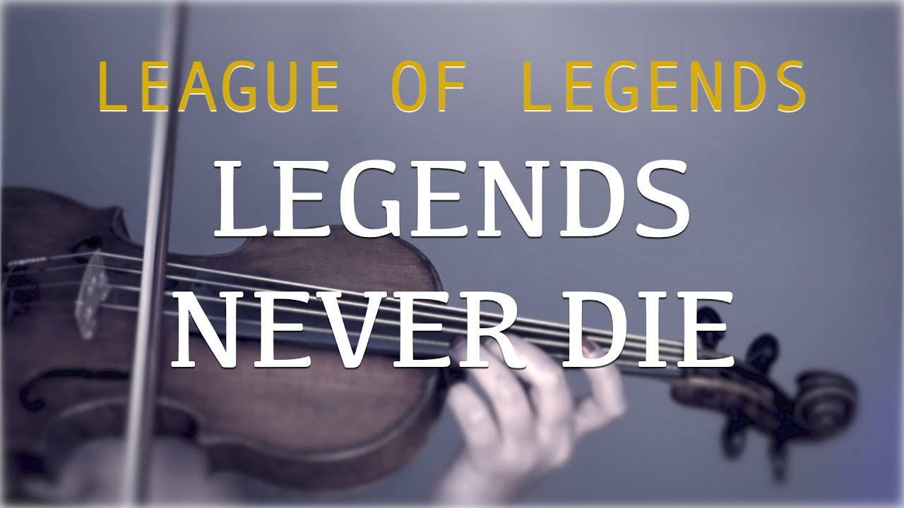 League Of Legends Legends Never Die For Violin And Piano Cover Youtube