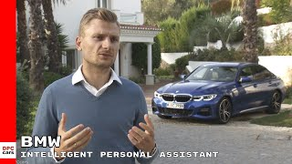 2019 BMW 3 Series Intelligent Personal Assistant
