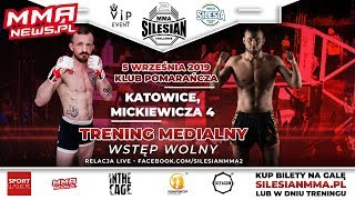 Media trening Silesian MMA Challenge 2