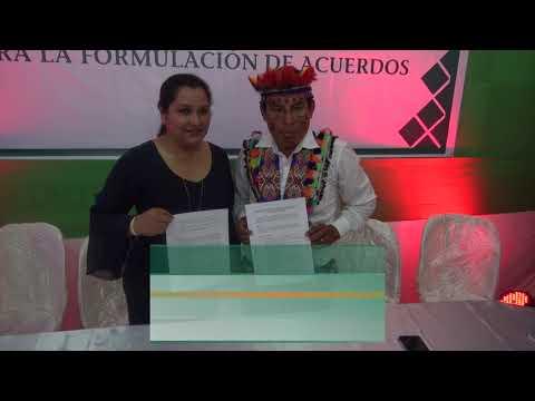 acuerdos entre el GORESAM y las Comunidades Nativas