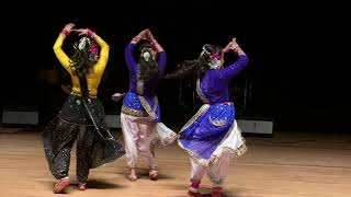Bangladeshi traditional dance performance by Mou and others
