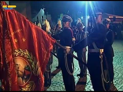 Conmemoración cívico militar al Libertador Simoón Bolívar a 187 años de su muerte. Venezuela