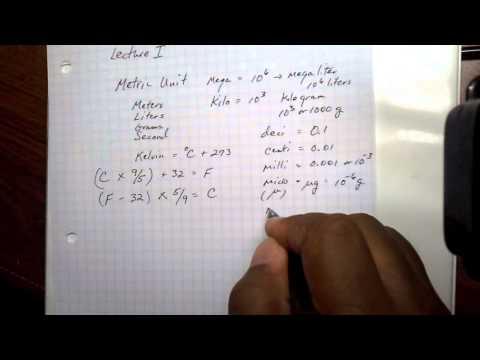 Basic Metrics and Mathematics