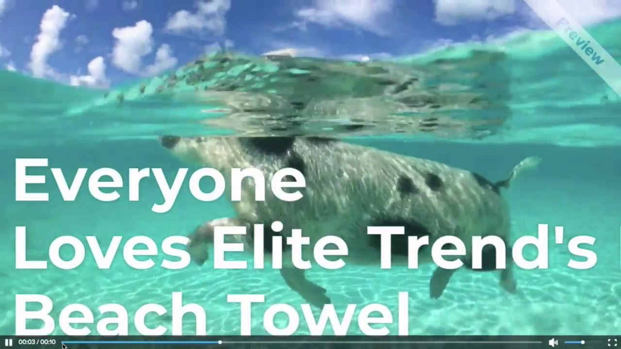 Trendy and High Absorbent Microfiber Beach Towel for New Generations