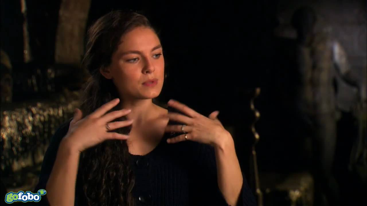 alexa davalos interview clash of the titans youtube