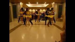 Oxford University Salsa Team Performance 2013 (Group 1)