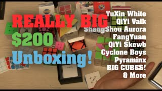 REALLY BIG Unboxing from SpeedCubeShop