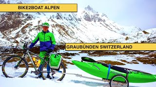 BIKE2BOAT ALPS EPISODE GRAUBÜNDEN SWITZERLAND