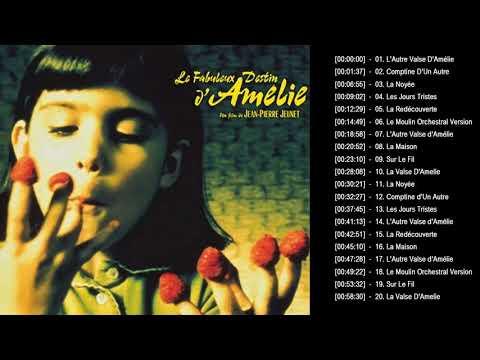 Amélie Soundtrack || amélie comptine d'un autre été l'après-midi - yann tiersen piano