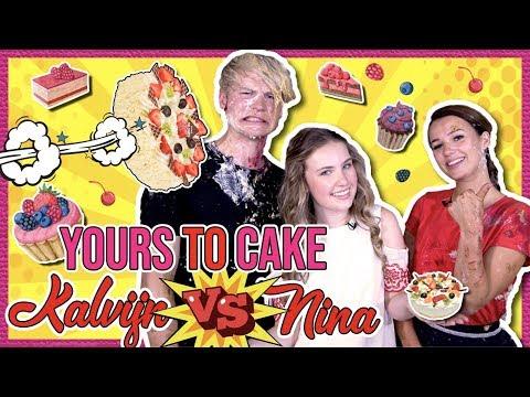 BEAUTYNEZZ met KALVIJN & NINA TAARTGEVECHT  - YOURS TO CAKE + GIVEAWAY