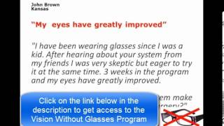 Vision Without Glasses ►► How To Rebuilt Vision