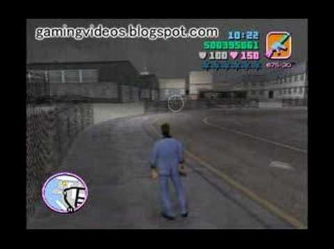 GTA Vice City - Hit The Courier (Printing Works 2)