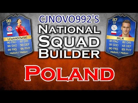 FIFA 16 - POLAND SQUAD BUILDER!! With TOTS LEWANDOWKSI & TOTS MILIK!!
