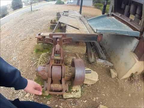 Antique Mining Equipment At Greenhorn Park, Yreka CA