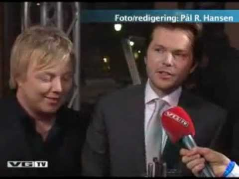 Lind, Nilsen, Fuentes & Holm - Spellemann 06' after party interview (VGtv 2007)