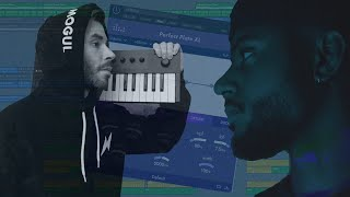 Cooking up a SMOOTH Sampled R&B/Soul Beat For Bryson Tiller