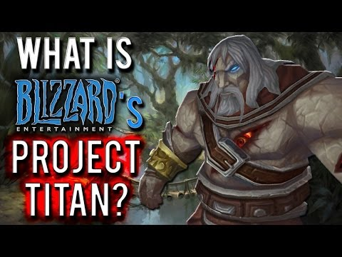 What is Blizzard's PROJECT TITAN?