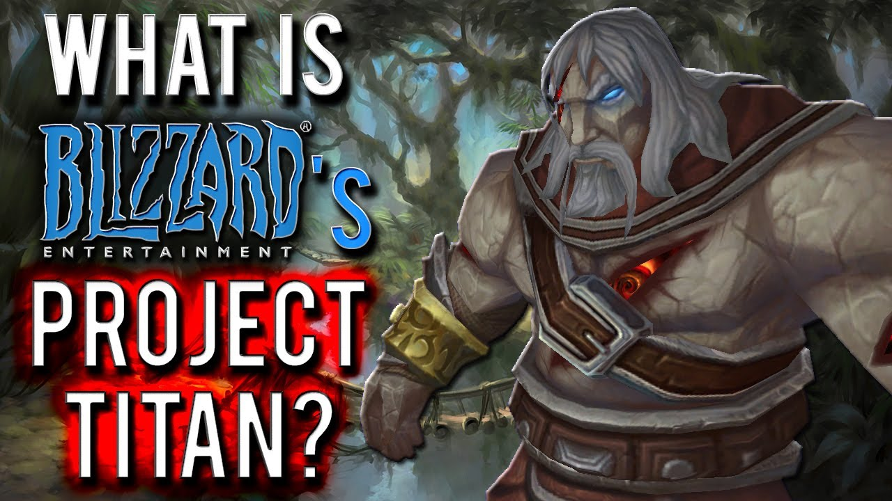 blizzard titan project Blizzard has been silently working on its next generation mmorpg, titan, for some time now when and where we'll get the first details on the game is.