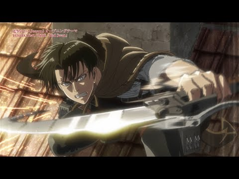 【YOSHIKI feat. HYDE】Red Swan -Anime MV-【進撃の巨人】【Attack on Titan】