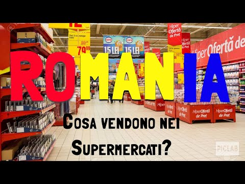 COSA VENDONO NEI SUPERMERCATI IN ROMANIA?? SCOPRIAMOLO...