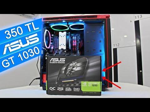 350 TL'ye Her Oyunu Açan Kurtarıcı: ASUS GT 1030 OC Edition İncelemesi