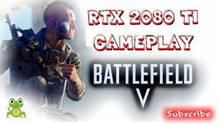 Battlefield V on RTX 2080 Ti Gameplay no HUD from CES 2019