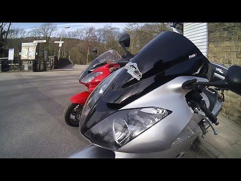 Snake Pass on 2 Honda VFR800's