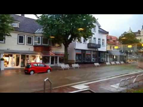 hochwasser in bad harzburg youtube. Black Bedroom Furniture Sets. Home Design Ideas