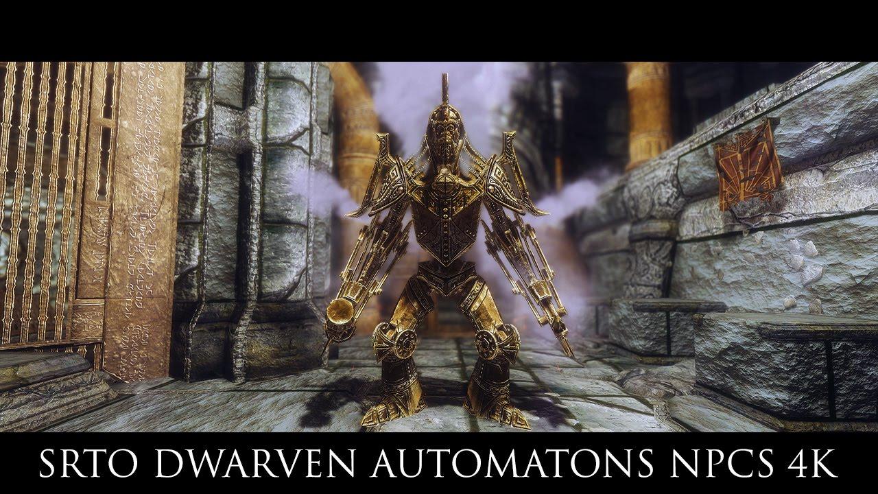 how to kill dwemer automatons skyrim