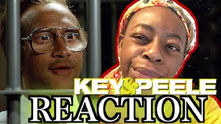 The Most Gullible Prison Guard | Key & Peele | REACTION