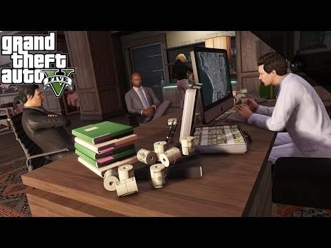 GTA Online - Haute finance... - Partie 1