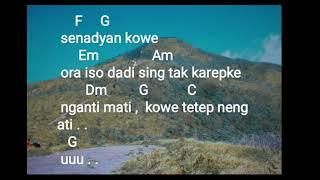 Gambar cover Chord & lirik lagu Tetep neng ati GUYON WATON Feat OM WAWES