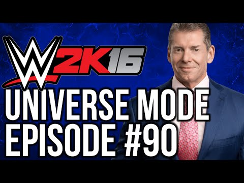 "WWE 2k16 Universe Mode: #90 ""New General Manager"""