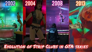 Evolution Of Strip Clubs In Grand Theft Auto Series (2002-2013)