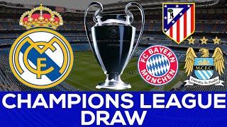 LIVE STREAM: UEFA Champions League Semi Final Draw |Real Galacticos Reaction