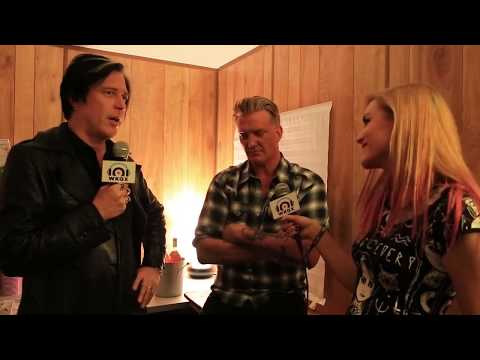 Joshua Homme and Troy Van Leeuwen of Queens Of The Stone Age interview 9/16/17
