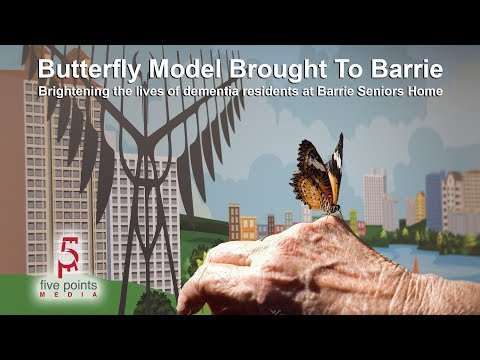 Butterfly Model Brought To Barrie