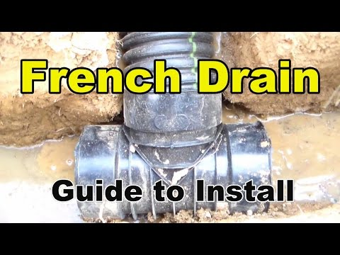 French Drain, Complete Guide and How To, by Apple Drains - Drainage Contractors