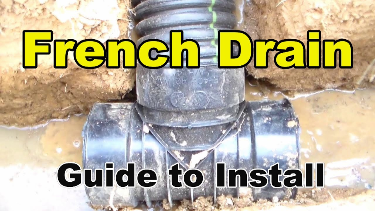 French Drain, Complete Guide and How To, by Apple Drain ...
