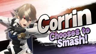 Super Smash Bros 3DS & Wii U – Kamui/Corrin Gameplay Trailer SMASH 4 Fire Emblem Fates